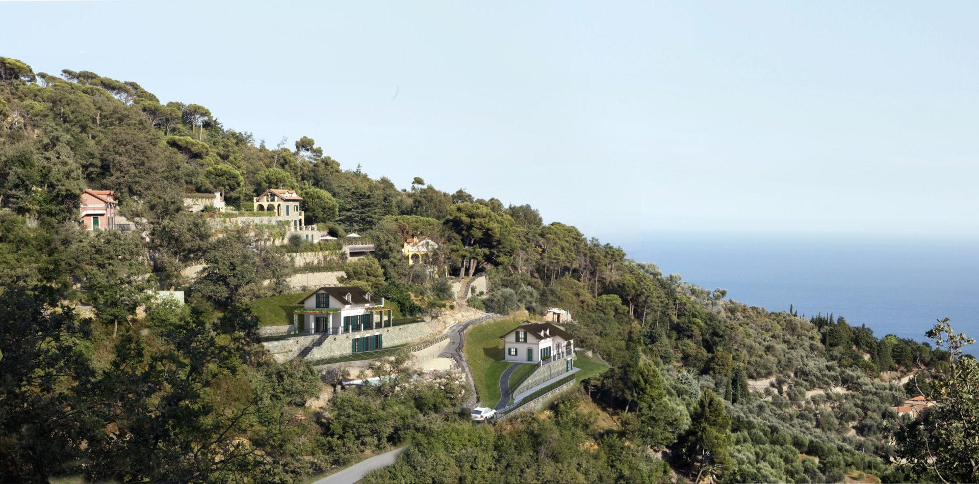 Alassio villa in collina maison d 39 elite for Piani di serra in collina